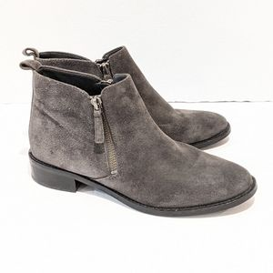 Michael Michael Kors grey suede ankle boots sz 6